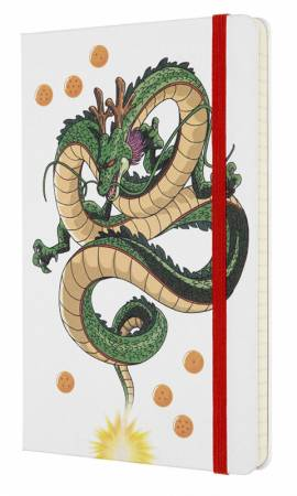Блокнот Moleskine LIMITED EDITION DRAGONBALL LEDGQP060C Large 130х210мм 192стр. линейка твердая обложка Dragon LEDGQP060C